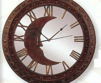 Wall Clock with Moon - 60-80283